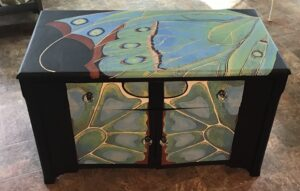 Butterfly Wing Cabinet